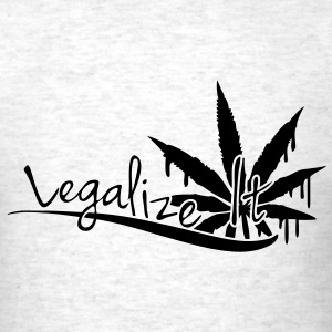 Legalize It Weed T-Shirts - Men's T-Shirt
