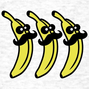 Banana Mustache Gentlemans T-Shirts - Men's T-Shirt