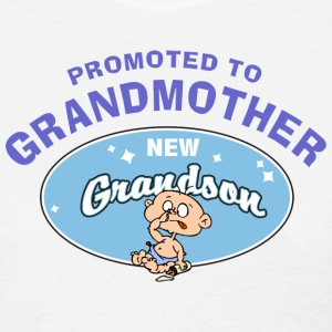 New Grandmother New Grandson T-Shirt - Women's T-Shirt