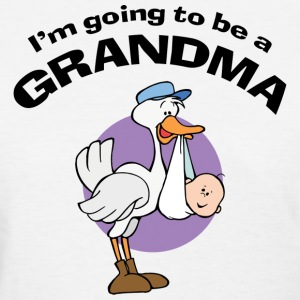 Going To Be a Grandma T-Shirt - Women's T-Shirt