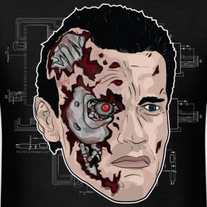 Cyborg Man-T800 - Men's T-Shirt