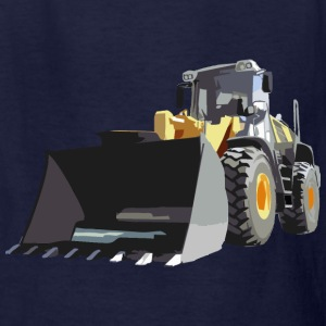 wheel loader Kids' Shirts - Kids' T-Shirt