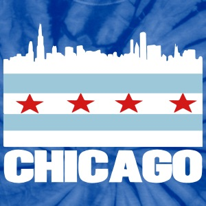 City of Chicago T-Shirts - Unisex Tie Dye T-Shirt