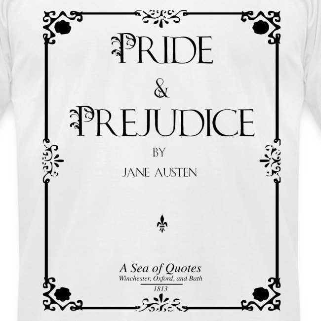 Pride and Prejudice Title Page Men's