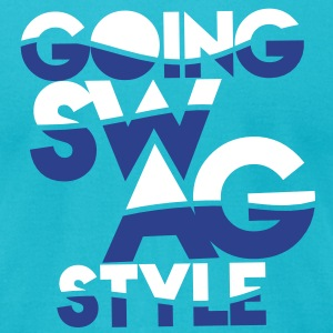 GOING SWAG STYLE two color T-Shirts - Men's T-Shirt by American Apparel