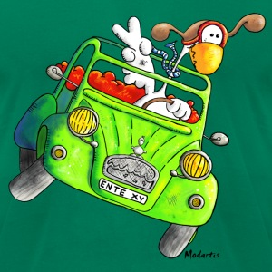 Duck car – Oldtimer – Vintage T-Shirts - Men's T-Shirt by American Apparel