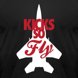 Kicks so fly T-Shirts - Men's T-Shirt by American Apparel