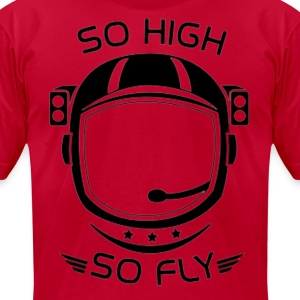 SoHighSoFly T-Shirts - Men's T-Shirt by American Apparel