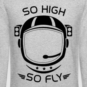 SoHighSoFly Long Sleeve Shirts - Crewneck Sweatshirt