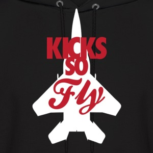 Kicks so fly Hoodies - Men's Hoodie