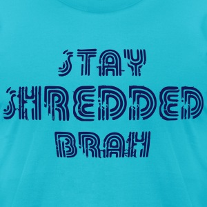 shredded T-Shirts - Men's T-Shirt by American Apparel