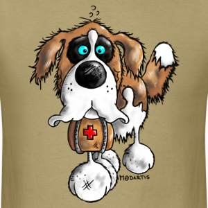 Bernhard - St. Bernard - dog  T-Shirts - Men's T-Shirt