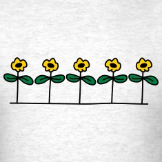 Flowers Design T-shirts