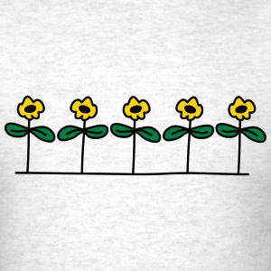Flowers Design T-Shirts - Men's T-Shirt