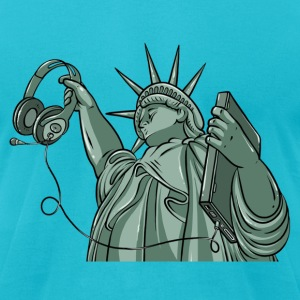 New Liberty T-Shirts - Men's T-Shirt by American Apparel