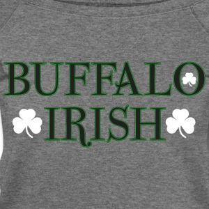 Buffalo Irish Long Sleeve Shirts - Women's Wideneck Sweatshirt
