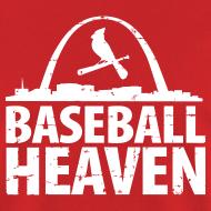 Design ~ St. Louis is Baseball Heaven - Mens