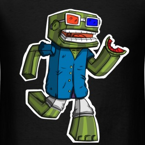 Minecraft: Bashurverse - Men's T-Shirt