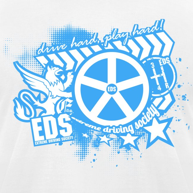 EDS Drive Hard, Play Hard (White)