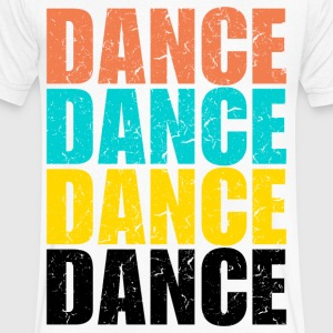 Dance Dance Dance - Men's V-Neck T-Shirt by Canvas