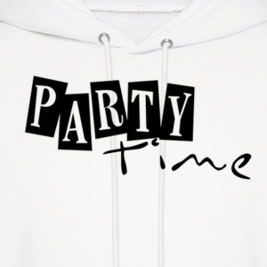 PARTY! Hoodies - Men's Hoodie