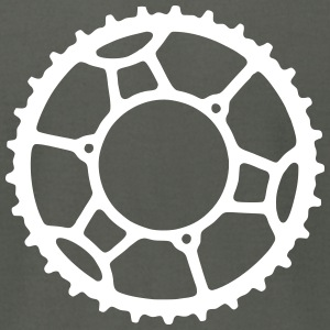 Bicycle Chainring 3  - Men's T-Shirt by American Apparel