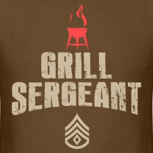 grill sergeant - Men's T-Shirt
