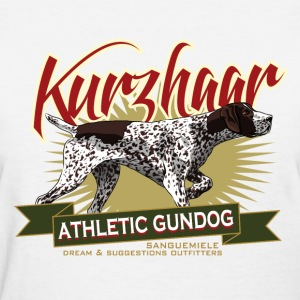 kurzhaar_athletic_gundog Women's T-Shirts - Women's T-Shirt