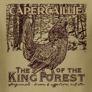 capercaillie_king_of_the_forest T-Shirts - Men's T-Shirt