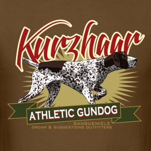 kurzhaar_athletic_gundog T-Shirts - Men's T-Shirt