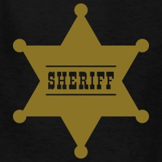 Sheriff's Star Kids' Shirts