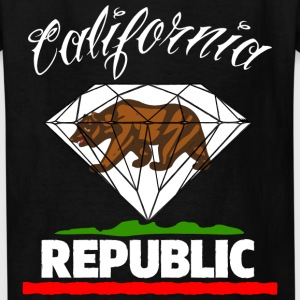 Diamond Republic of California Kids' Shirts - Kids' T-Shirt
