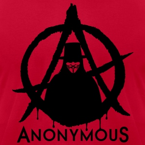 Anonymous Vendetta 1c T-Shirts - Men's T-Shirt by American Apparel
