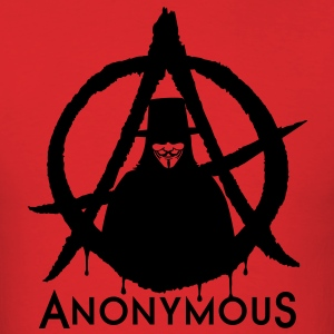 Anonymous Vendetta 1c T-Shirts - Men's T-Shirt