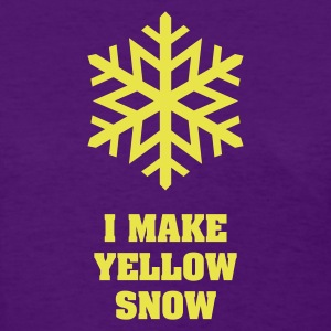 Yellow Snow Flake No.1 Women's T-Shirts - Women's T-Shirt