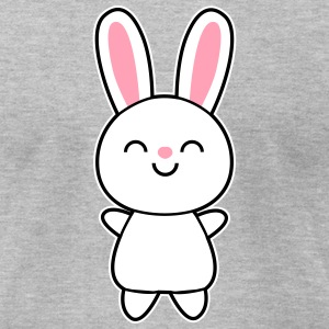 Cute Rabbit / Bunny T-Shirts - Men's T-Shirt by American Apparel