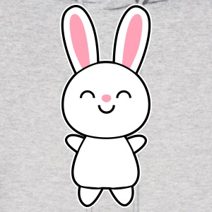 Cute Rabbit / Bunny Hoodies - Men's Hoodie