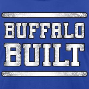Buffalo Built T-Shirts - Men's T-Shirt by American Apparel