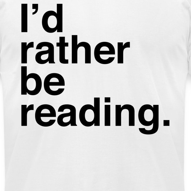 Rather Be Reading Men's