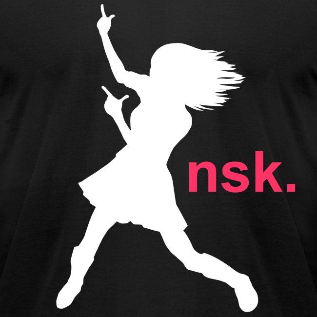 NSK Logo Black