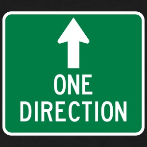 One Direction Highway Sign - Women's T-Shirt