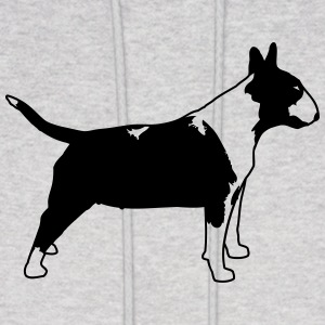 Bull Terrier SIDE 1c Hoodies - Men's Hoodie