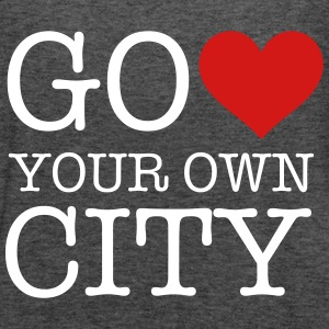 heart your own city Tanks - Women's Flowy Tank Top by Bella