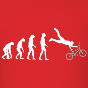 bmx evolution T-Shirts - Men's T-Shirt