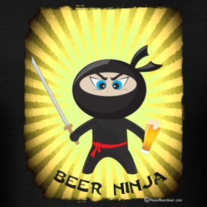 Beer Ninja Men's 3XL/4XL T-Shirt - Men's T-Shirt