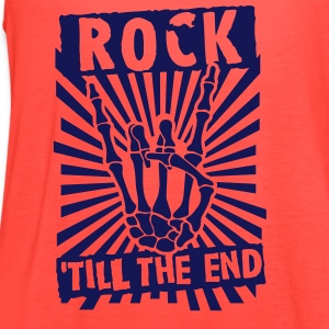 rock 'till the end Tanks - Women's Flowy Tank Top by Bella