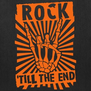 rock 'till the end Bags & backpacks - Tote Bag