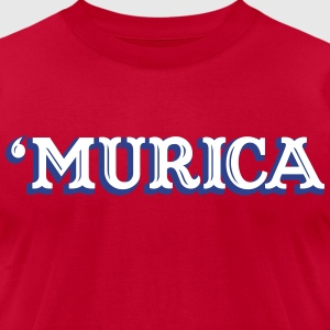 'MURICA T-Shirts - Men's T-Shirt by American Apparel