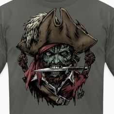 Zombie Pirate T-shirt
