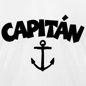 Capitán Anchor T-Shirt - Men's T-Shirt by American Apparel